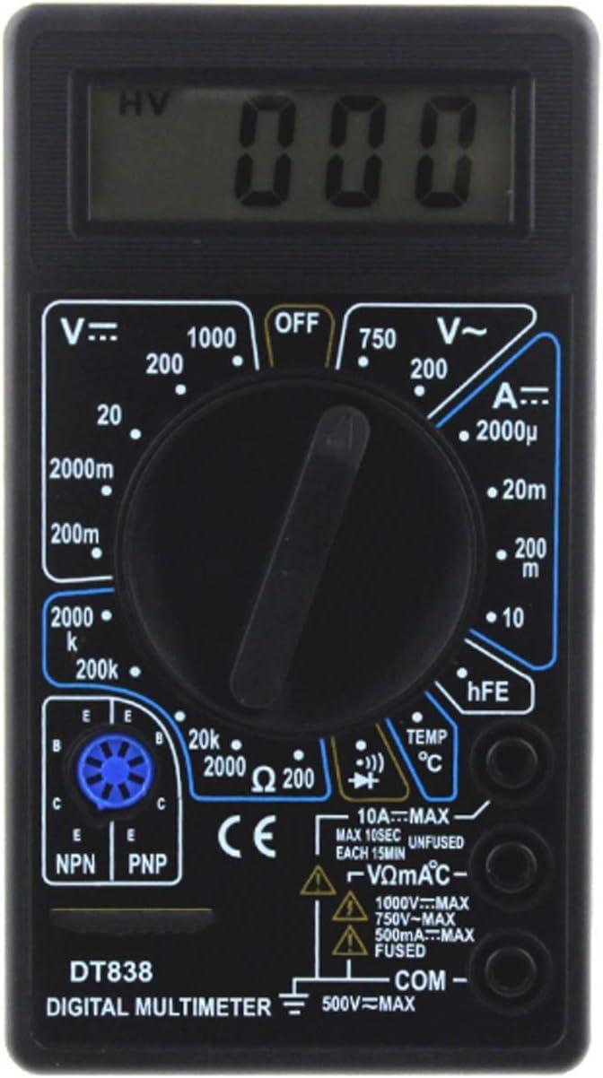SYMY Multimeter DT838C Beauty products Digital Buzze Super sale Voltmeter Tester