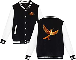 JILILY Custom The Hunger Games Boys Fashion Sport Coat Black