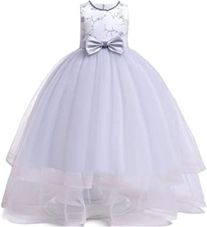 Surprise S Summer Party Dress Kids Dresses for Girls Mesh Princess Dress Birthday Girl Wedding Dress 9 10 12 Year