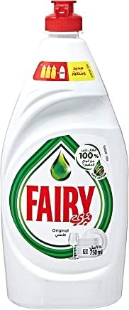 Fairy Original Liquid Dishwashing Soap, 750 ml