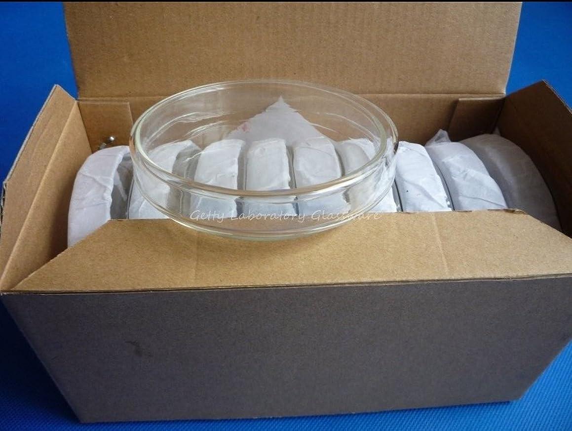 三十冗長マルコポーロ75mmガラス組織ペトリ皿、培養皿、カバー付き培養プレート10枚/ロット [並行輸入品]
