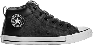 Converse Boys Kid's Chuck Taylor All Star Street Mid Top Leather Fashion Sneaker Shoe