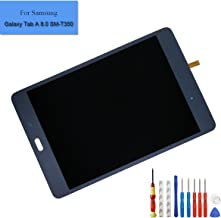 E-yiiviil Replacement LCD Compatible with Samsung Galaxy Tab A 8.0 SM-T350 T355 Display Assembly Touch Screen (Black) + Tools