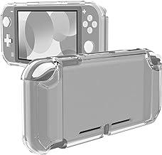 MoKo Kompatibel med Nintendo Switch Lite väska, transparent TPU droppskydd fodral med mjukt halkfritt grepp, matt genomski...