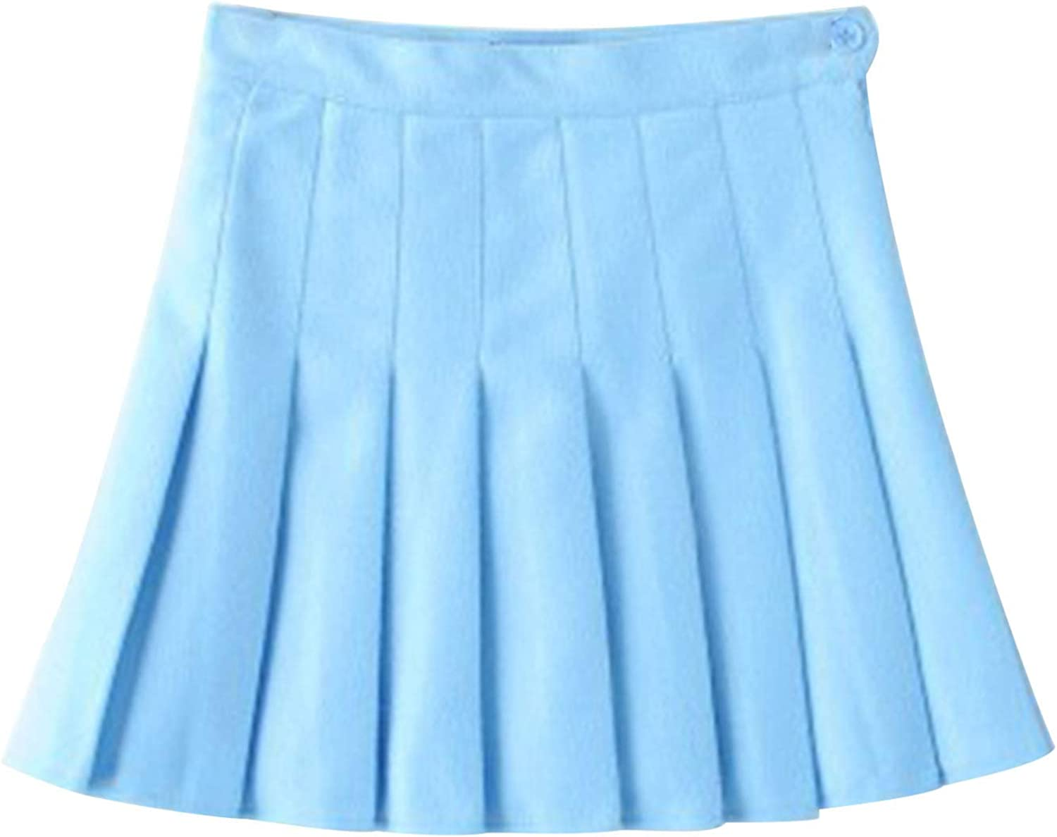 Kayotuas Girls Womens High Waisted Pleated Skirts Tennis School Uniforms Mini Skater Skirt Lining Shorts