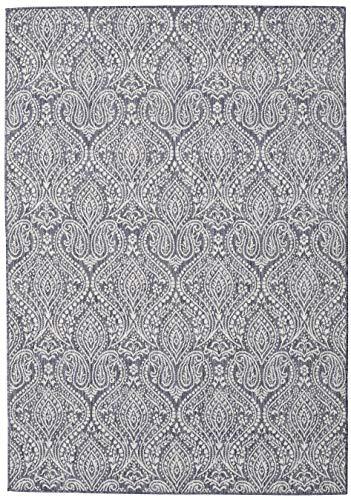 RugVista Palace - dunkelblau/Beige Teppich 200x300 Moderner Teppich