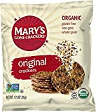 Mary's Gone Crackers Snack Bags, Original, 1.25 Ounce, 25 Count