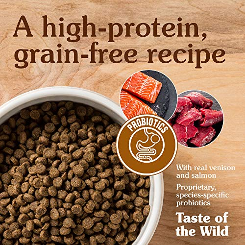 Taste of the Wild Grain Free High Protein Real Meat Recipe Rocky Mountain Premium Dry Cat Food - (Discontinued size by manufacturer)