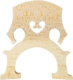 PIXNOR Cello Parts Maple 44 Cello Bridge (Wood Color)