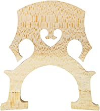 PIXNOR Cello Parts Maple 44 Cello Bridge (Wood Color)