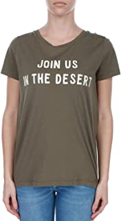 Luxury Fashion | Woolrich Womens WWTEE1126JY804161D Green T-Shirt | Spring-Summer 19