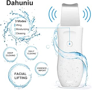 Facial Skin Scrubber,Face Spatula,Pores Cleanser Exfoliator Blackhead Remover Comedone Extractor for Facial Deep Cleansing,Facial Lifting Tool.