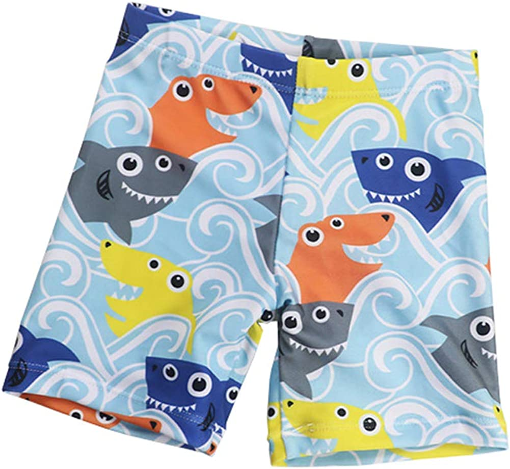 Digirlsor Toddler Kids Boys Swim Trunks Quick Dry Beach Boardshorts Swim Suit Cute Swim Shorts, 0-8 Years