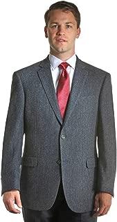 Harris Tweed Sportcoat - Black & White Herringbone