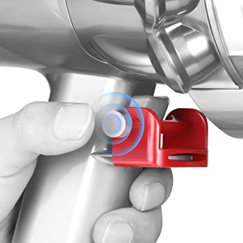 LANMU Trigger Lock Compatible with Dyson V11 V10 Absolute/Animal/Motorhead Vacuum Cleaner, Power Button Lock Accessories, Free Your Finger (Not for Dyson V11 Outsize)
