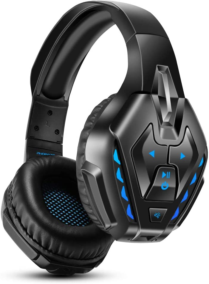 Gaming Headset for PS4, Xbox One, PC, Nintendo Switch, PHOINIKAS Bluetooth Over...