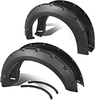 For 15-18 Ford F150 Styleside Pocket-Riveted Style Wheel Cover Fender Flares 4 Pcs Set