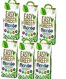 lettiera VEGETALE MONGE Easy Green Gatto Gatti furetti rettili Cat 10 Litri biodegradabile WC 2/3/6 Sacchi SPEDIZIONE Gratuita (7 Pezzi)