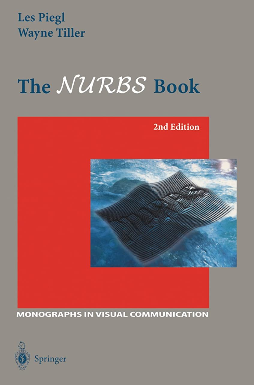 カストディアン静かに外科医The NURBS Book (Monographs in Visual Communication) (English Edition)