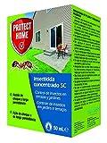 Protect Home - Insecticida Concentrado SC para el control de hormigas en exteriores , acción de choque y larga persistencia, 50ml
