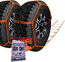 BOG OUT Twin Pack - COMPLETE Vehicle Recovery Kit - Twin Pack TURNS WHEELS INTO WINCHES - Mud, Sand & Snow WORKS Forwards AND Reverse Vehicle Recovery