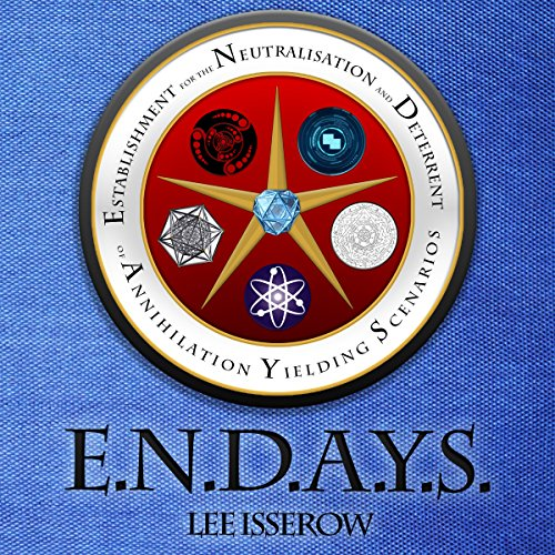 E.N.D.A.Y.S. audiobook cover art