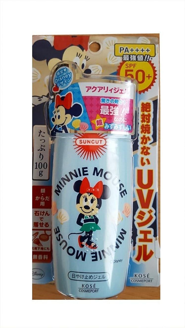 冷蔵するカルシウム一元化する【数量限定】ディズニー ミニーマウス×KOSE サンカット 日やけ止めエッセンス SPF50+ PA++++ 100g