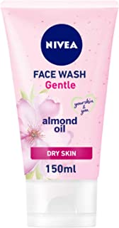 NIVEA Gentle Cleansing Face Wash, Dry Skin, 150ml