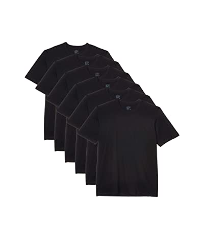 Jockey Crew Neck T-Shirt 6-Pack (Black) Men