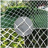 ZXLLAFT Filet De Sécurité pour Bâtiment,Grille De 50/100 Mm, Largeur De 2 M, Filet De Clôture De Jardin,Filet De Volaille,100MmMesh,2X4M/6.5X13FT