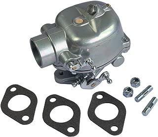 CARMOCAR Carburetor for Ford Tractor 2N 8N 9N Heavy Duty TSX33 OEM # 8N9510C 8N9510C-HD 8N9510C TSX241B TSX-241B TSX241C TSX-241C TSX33 B3NN9510A FSC30-0032 Carb Carburetor With Mouting Gasket