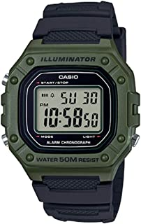 Casio Rectangle Digital Dial Watch For Men - W-218H-3AVEF