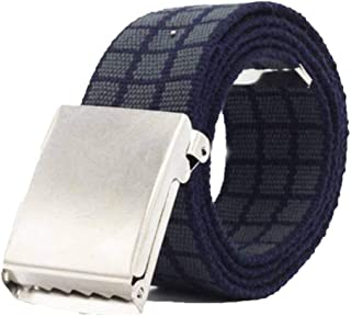 Uomo HX fashion Cintura In Nylon Da Uomo Cintura Traspirante Da Taglie Comode Uomo Unisex Cintura In Nylon Addensato Cintura In Tela Da Esterno Rtel Abiti