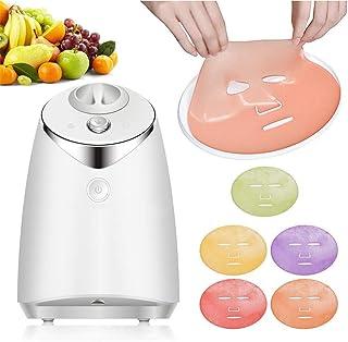 Fruit Machine Mask, Facial Mask Maker, Making Machine, DIY Natural Organic Fruit Vegetable, Voice Feature, Automatic Colla...