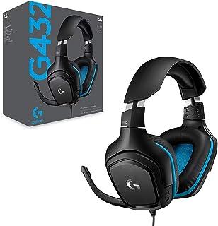 Logitech 981-000824 G432 7.1 Surround Sound Gaming Headset
