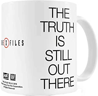 The X Files Mug The Truth Is Still Out There Logo Coffee Official White Boxed