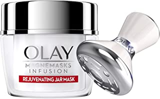 Face Mask by Olay Magnemasks Infusion - Korean Skin Care Inspired Deep Hydration, Rejuvenating Face Mask for Fine Lines & Sagging Skin - Starter Kit