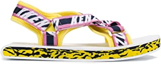 KENZO Luxury Fashion Mens F955SD272F7133 Yellow Sandals | Spring Summer 19