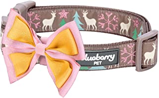 Blueberry Pet 10+ Patterns Christmas Festival Dog Collar Collection - Collars and Accessories for Dogs, Matching Lanyards for Pet Lovers