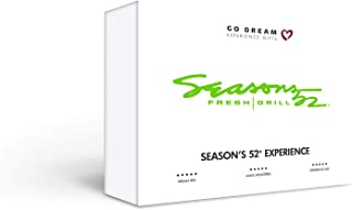 Season's 52 Restaurant Gift Card Nationwide - GO DREAM - Sent in a Gift Package