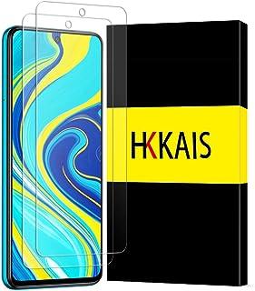 【2枚セット】Redmi Note 9S ガラスフィルム 強化ガラス 保護フィルム Redmi Note 9S 液晶フィルム カバー 日本旭硝子製 防指紋 透過率99.9% 気泡ゼロ