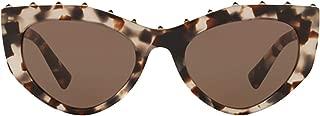 Luxury Fashion | Valentino Womens VA4060509773 Beige Sunglasses | Fall Winter 19