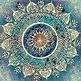 Mosaico de diamantes de pared de piedra de diamante redondo pintura Art ística resina de diamante pintura de esmalte bolsa de piedra de diamante decoración de la Sala de estar regalo de pintura