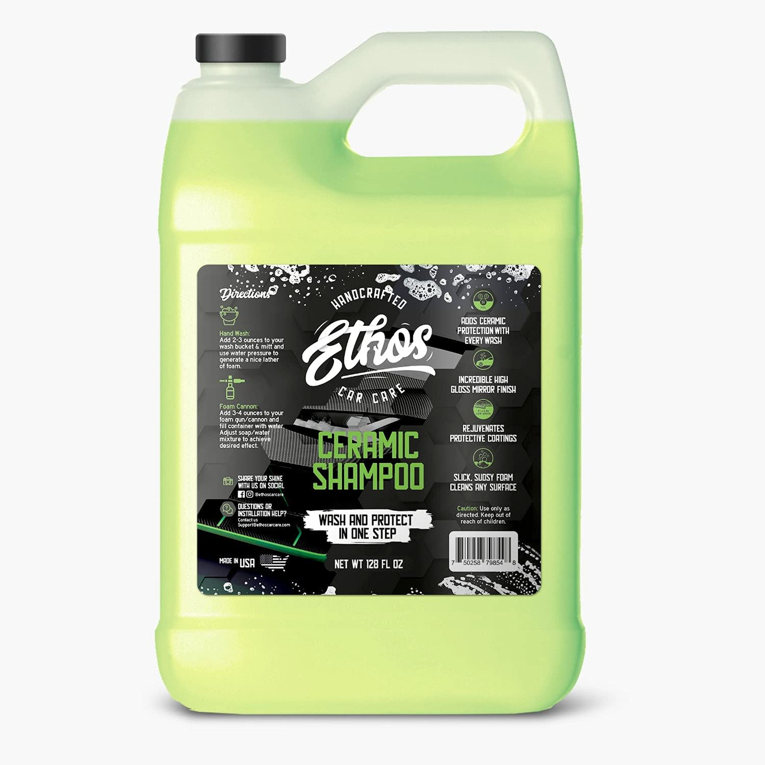 Ceramic Car Shampoo Adds Hydrophobic Protection Wash With Bargain New life Every