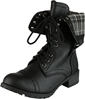 Best fold over black booties Reviews