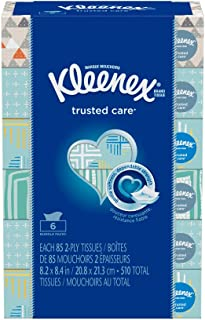 Kleenex Everyday Low Count Tissues, 85 Count(pack of 6)