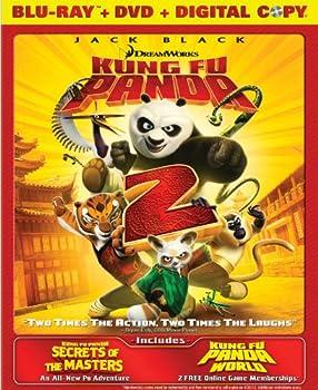 Kung Fu Panda 2 / Secrets of the Masters  Two-Disc Blu-ray/DVD Combo
