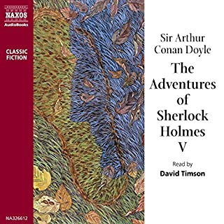 The Adventures of Sherlock Holmes V audiobook cover art