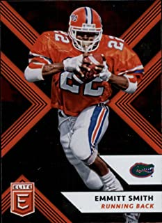 2018 Panini Elite Draft Picks #40 Emmitt Smith Florida Gators Football Card