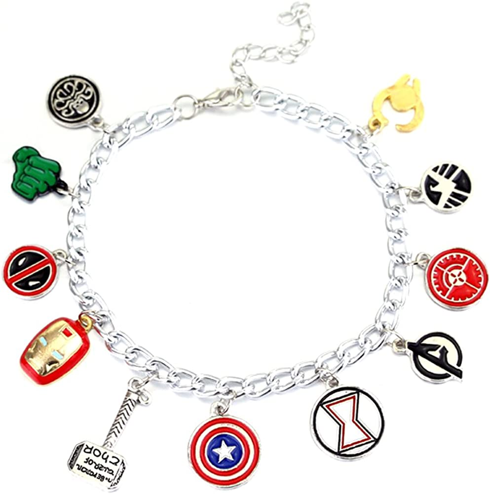 Super Heroes Charm Bracelet Gifts Collectible Japan's largest assortment Fantastic Fans' Ranking TOP6 Je